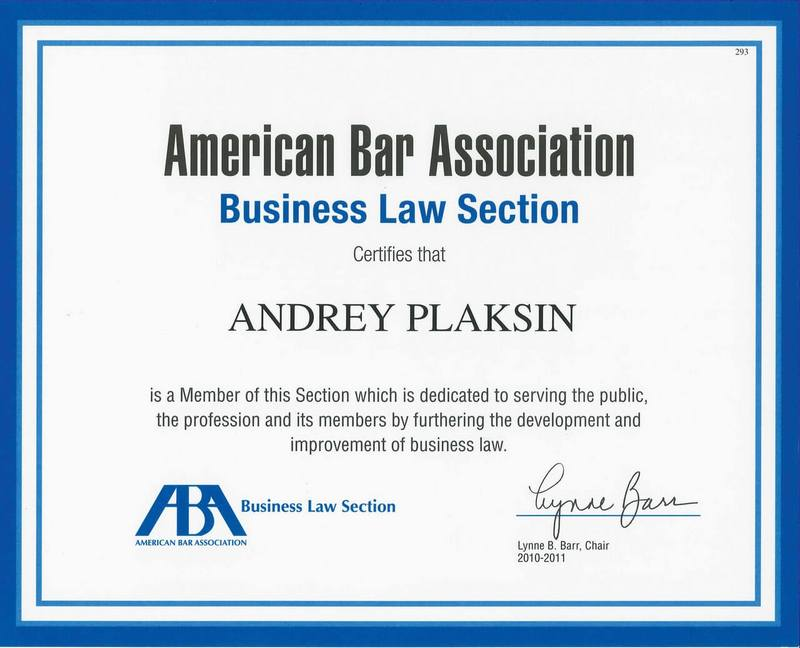 And Usa Visa Andrey In Immigration Plaksin Attorney